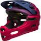 Bell Super 3R MIPS Joyride MTB Helmet Women matte navy/cherry